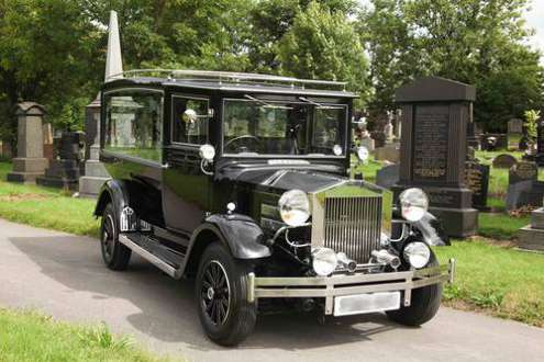 Vintage Funeral Hearse Hire